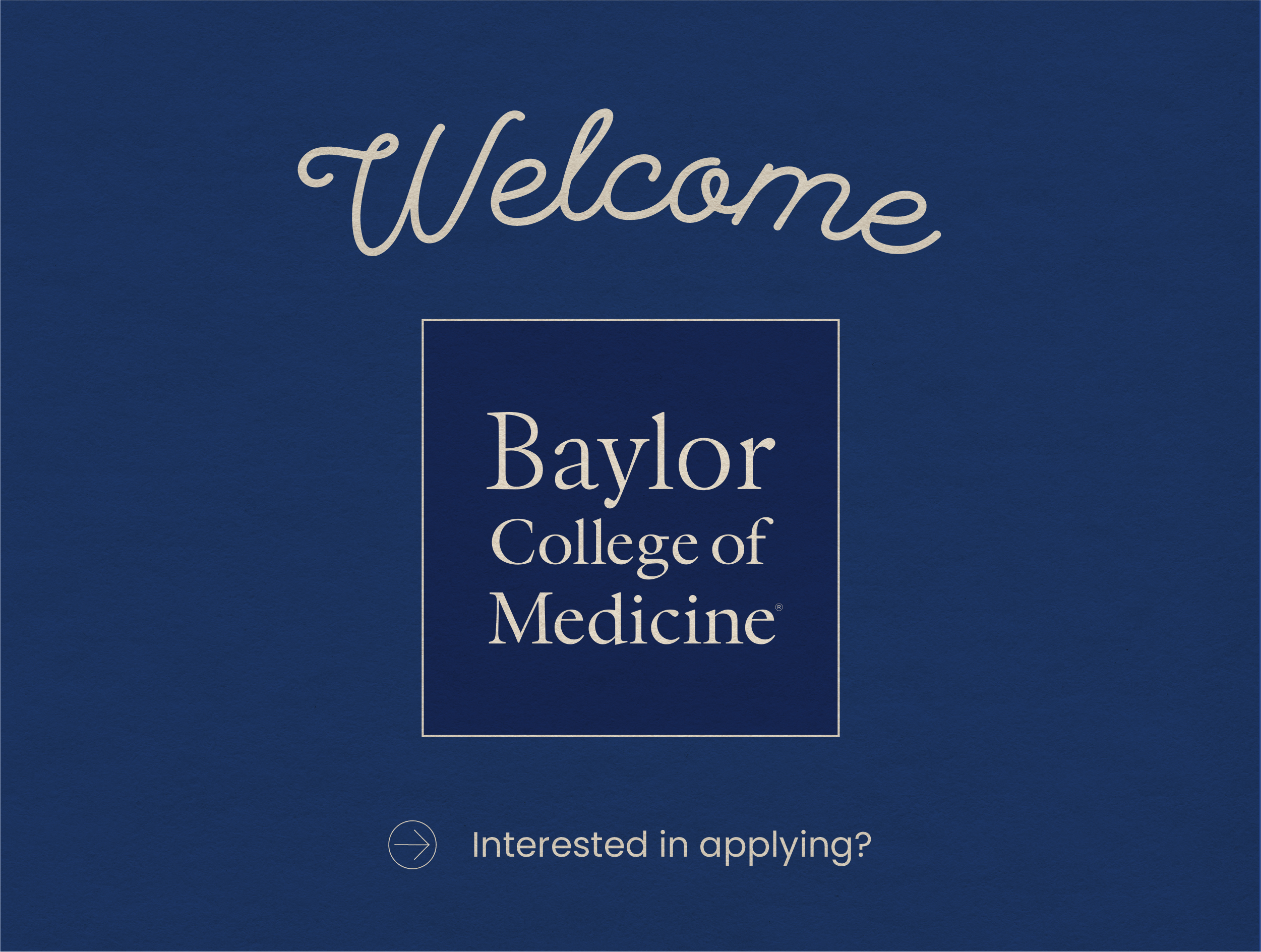 Baylor College of Medicine joins TMDSAS!