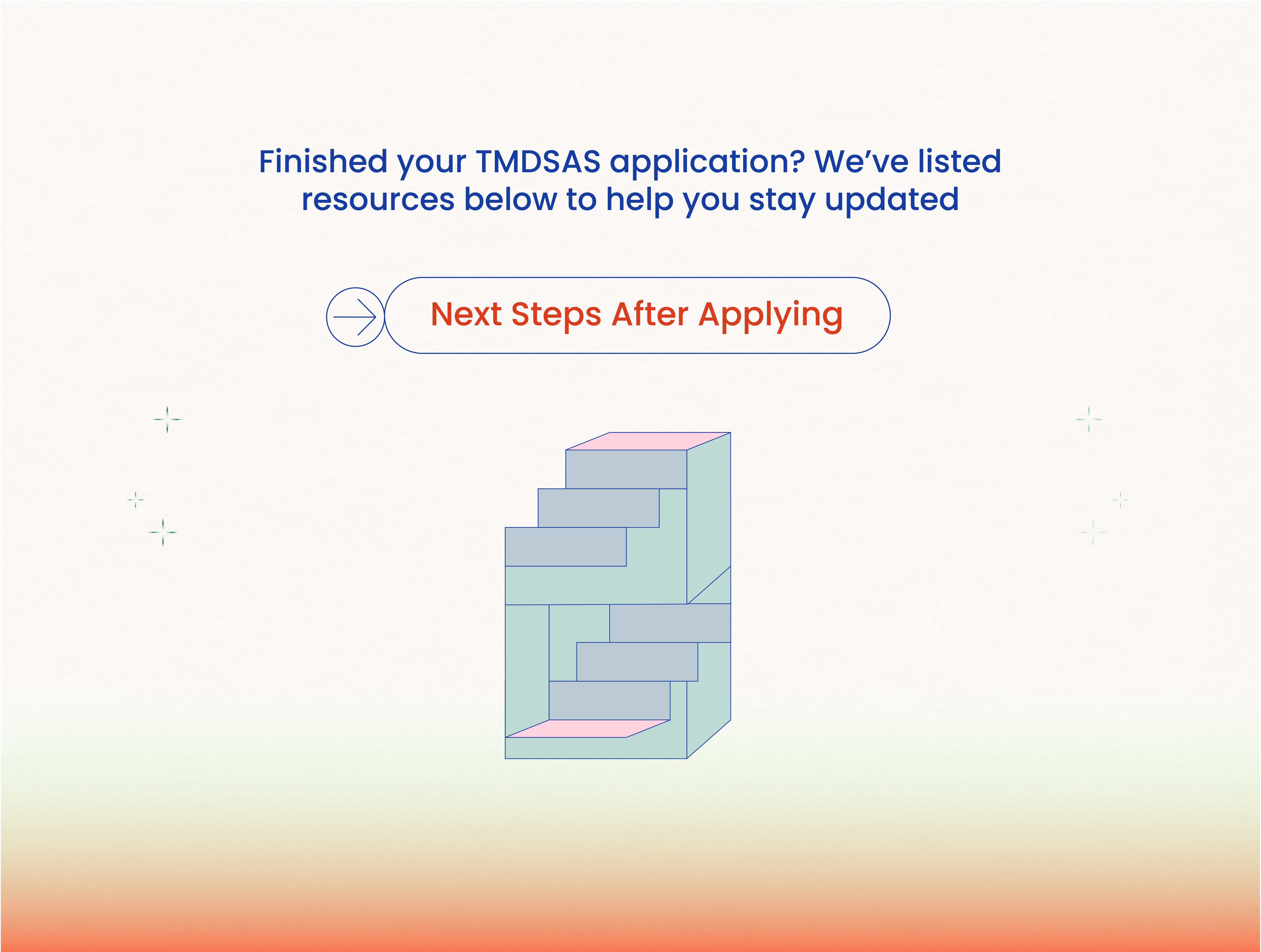 Next Steps after the Application