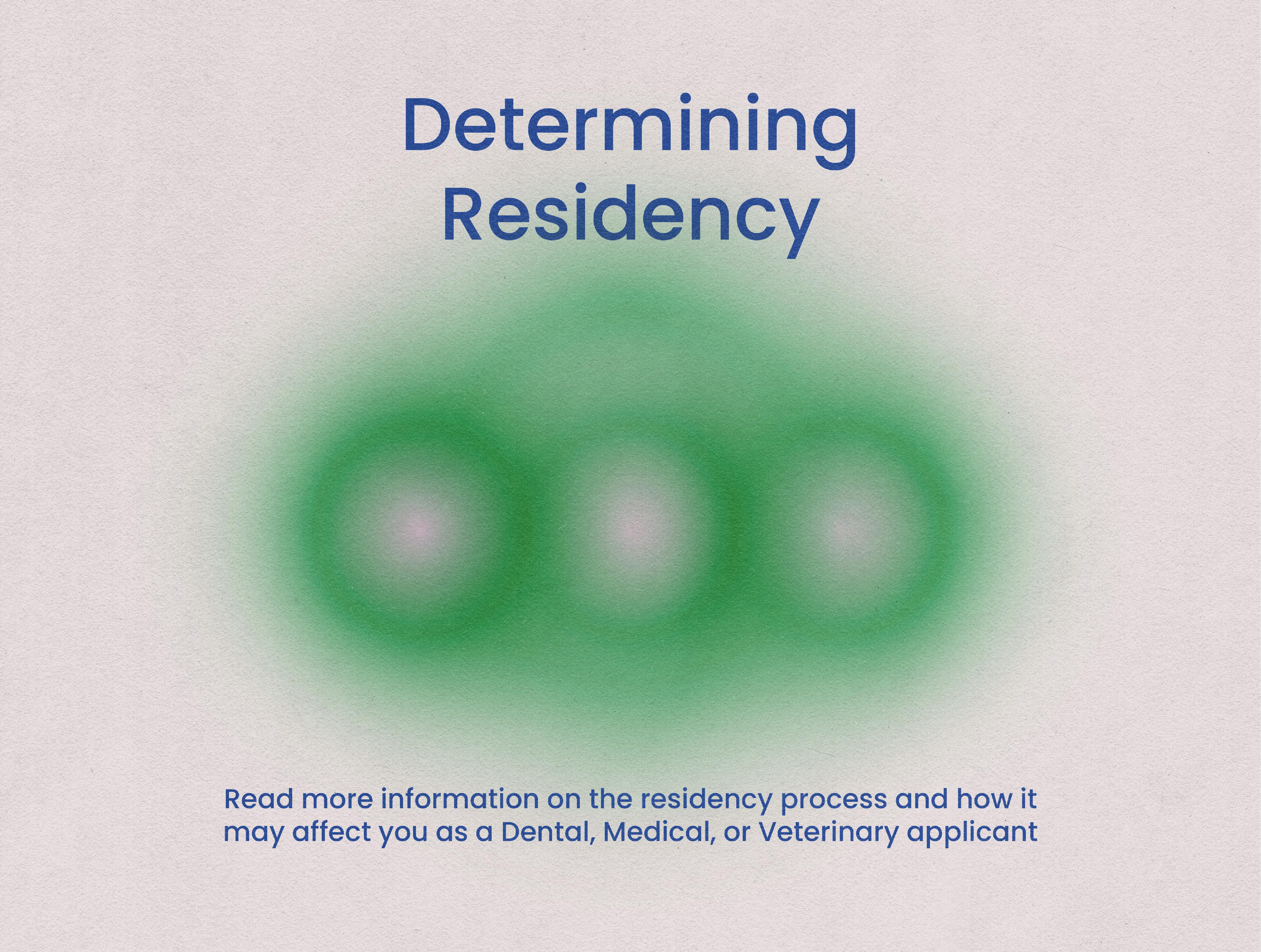 residency process information